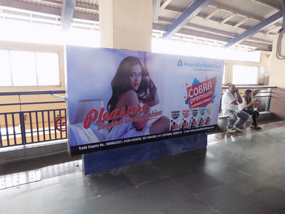 Dwarka - Delhi Metro Advertising