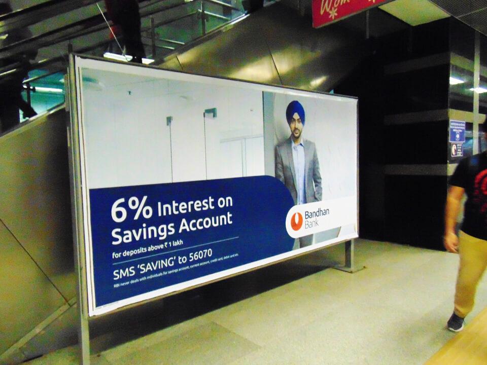 Dwarka Sector 21 - Delhi Metro Advertising