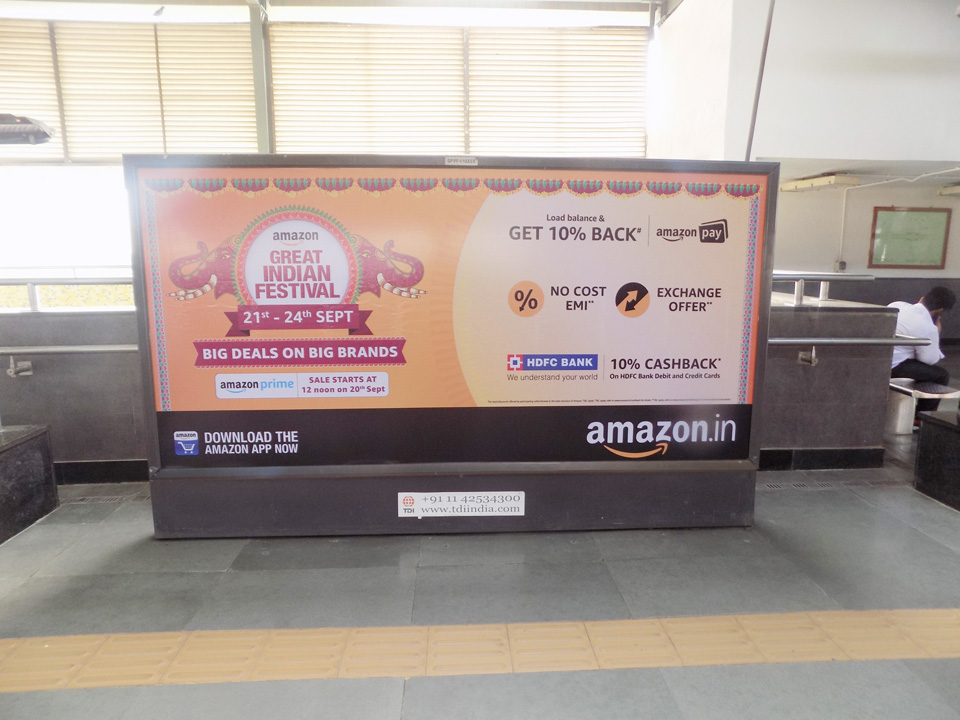 Govind Puri - Delhi Metro Advertising