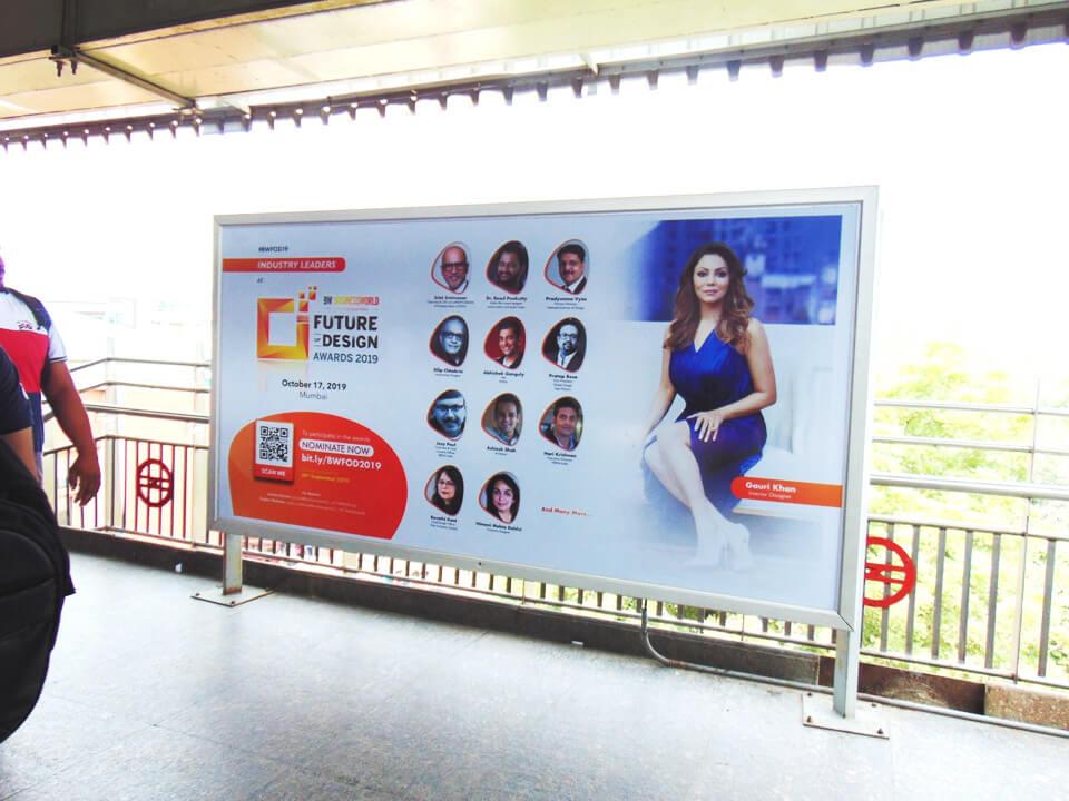 Janakpuri West - Delhi Metro Advertising