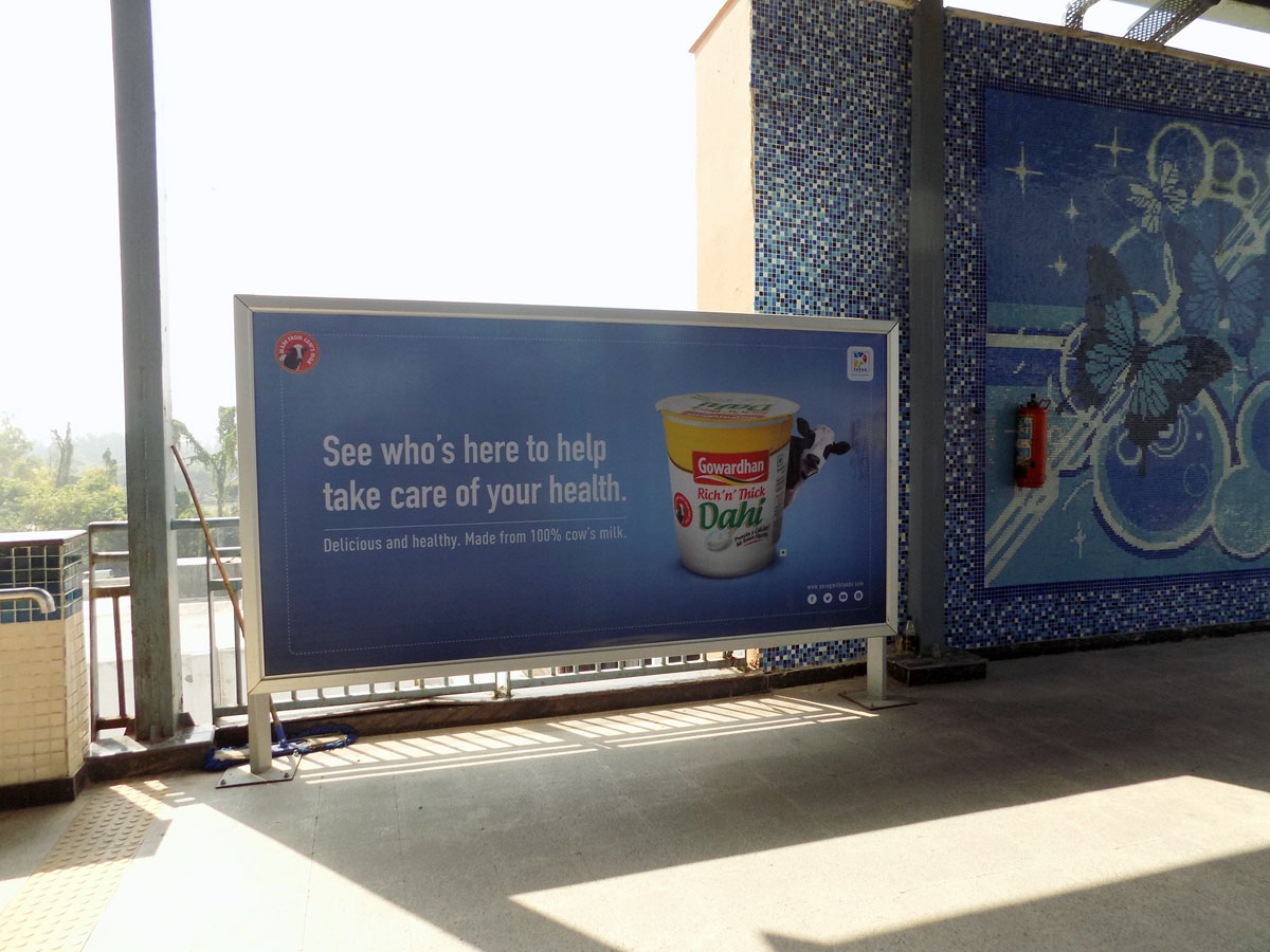 Pratap Nagar - Delhi Metro Advertising