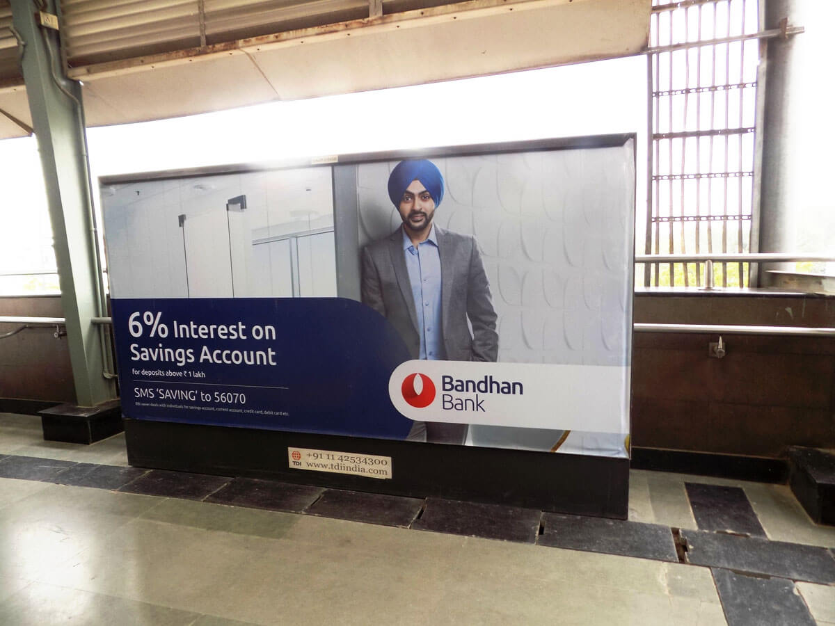 Kalkaji Mandir - Delhi Metro Advertising