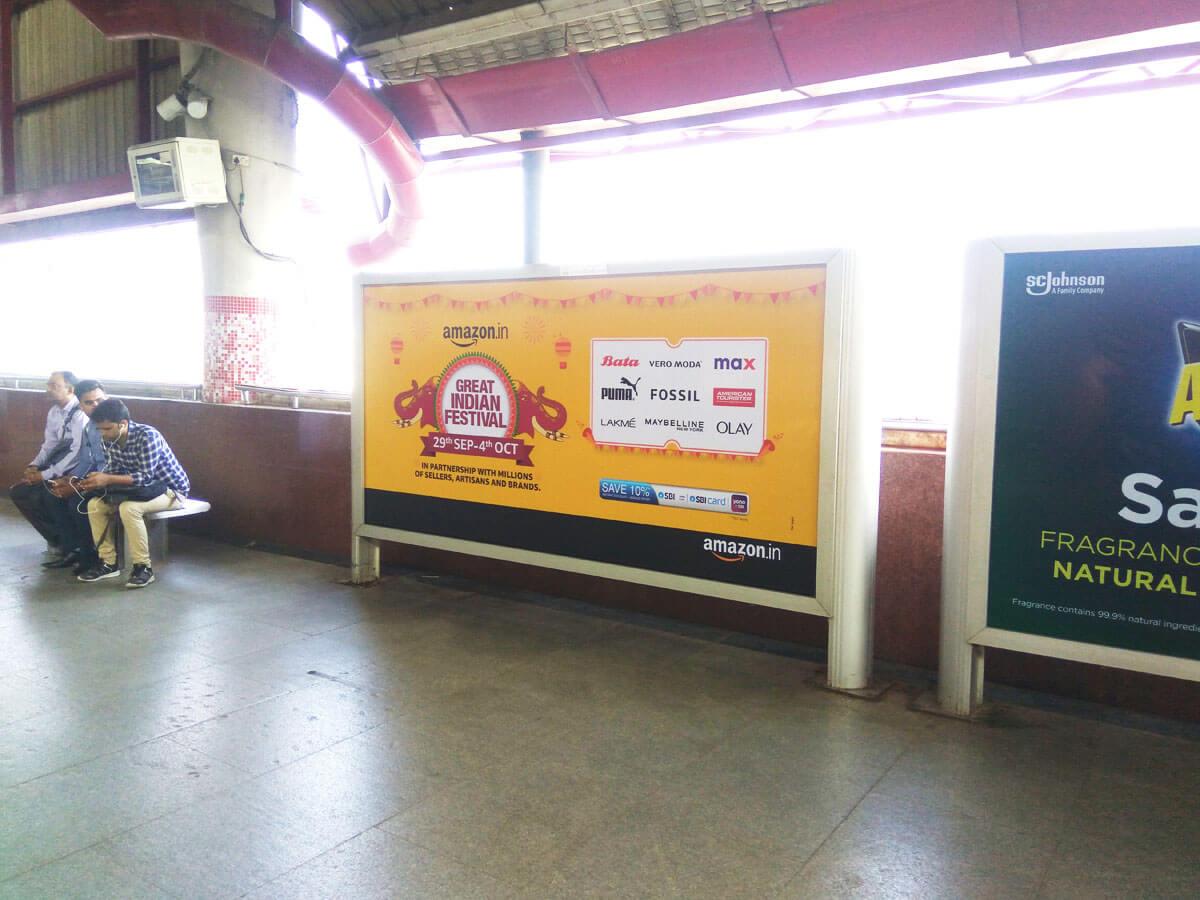 Kashmere Gate - Delhi Metro Advertising