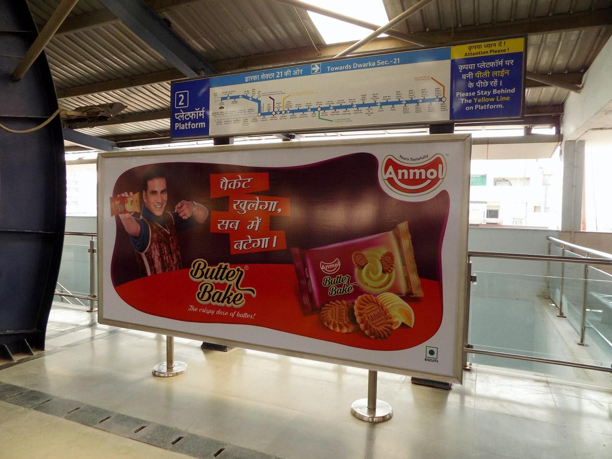 Kaushambi - Delhi Metro Advertising