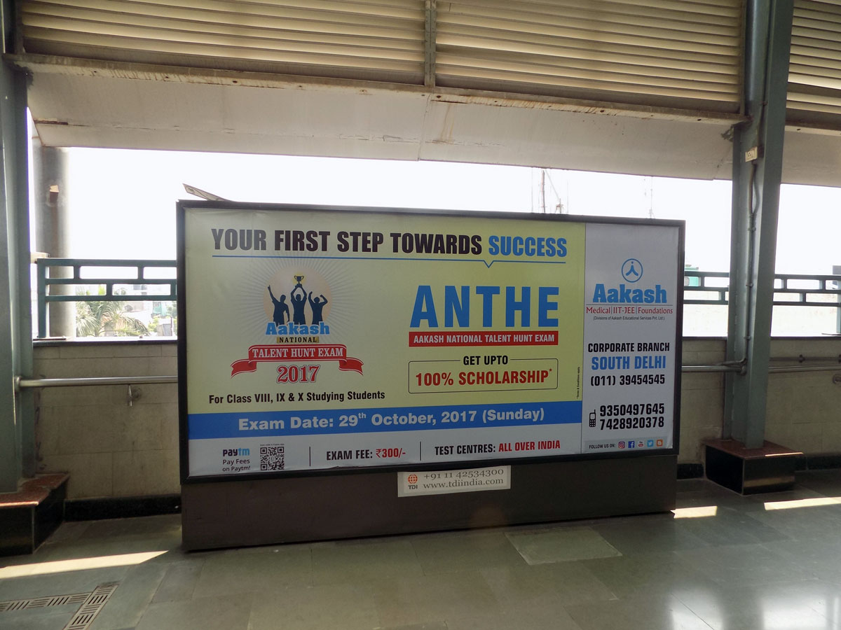 Lajpat Nagar - Delhi Metro Advertising