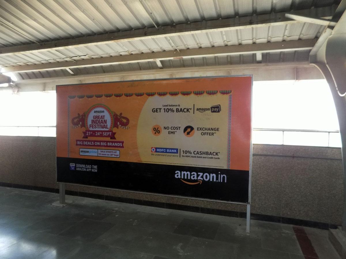 Netaji Subhash Place - Delhi Metro Advertising
