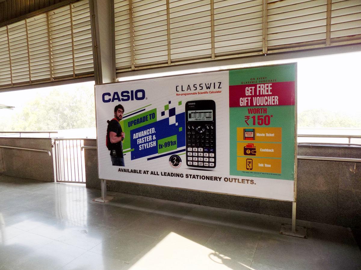 Paschim Vihar East - Delhi Metro Advertising