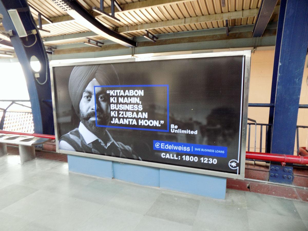 Patel Nagar - Delhi Metro Advertising