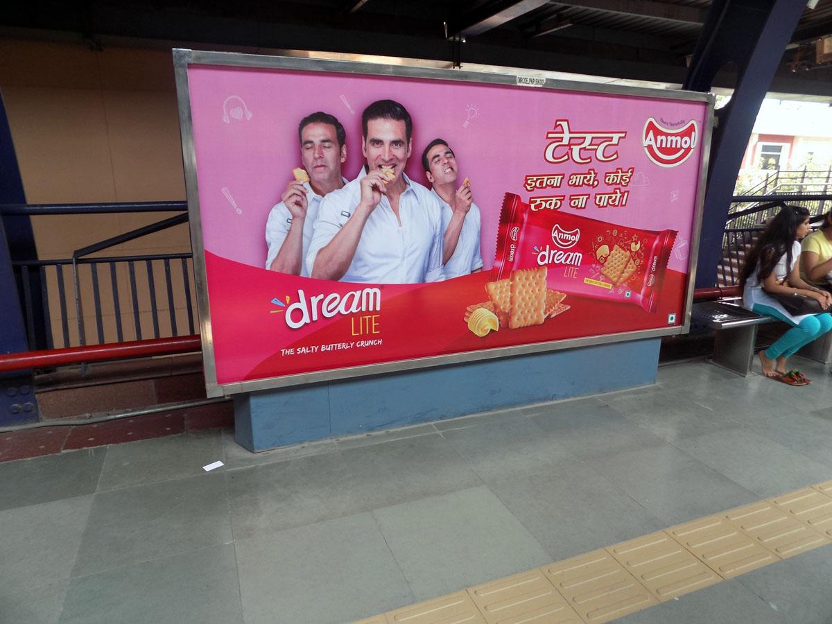 Patel-Nagar - Delhi Metro Advertising