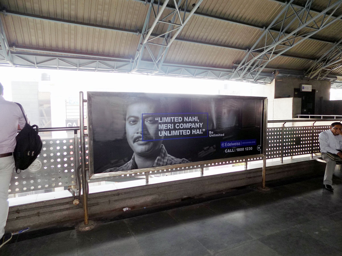 Pitampura - Delhi Metro Advertising