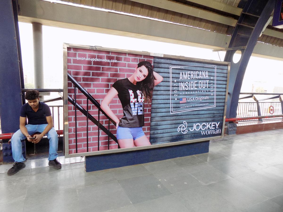 Rajouri Garden - Delhi Metro Advertising