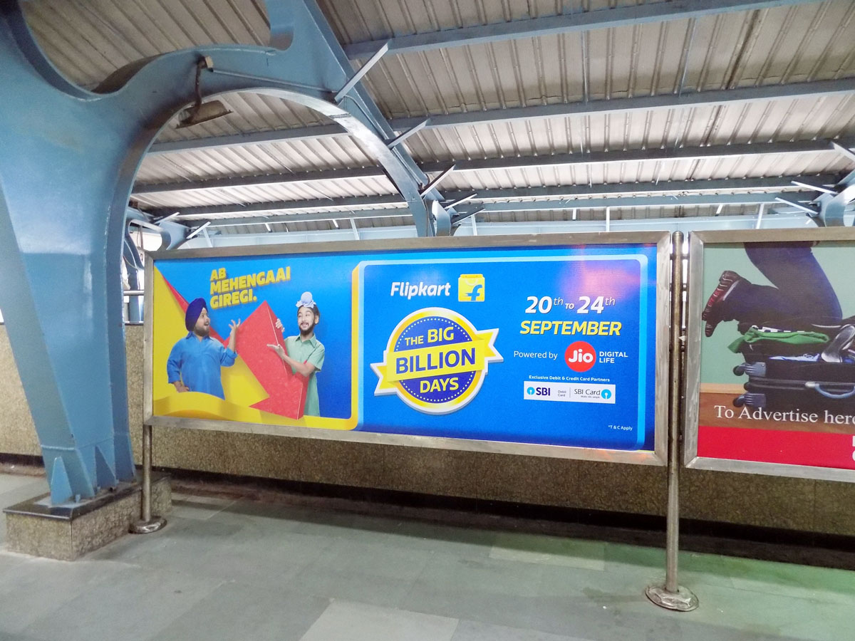 Rithala - Delhi Metro Advertising