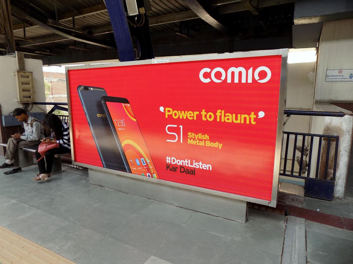 Subhash Nagar - Delhi Metro Advertising