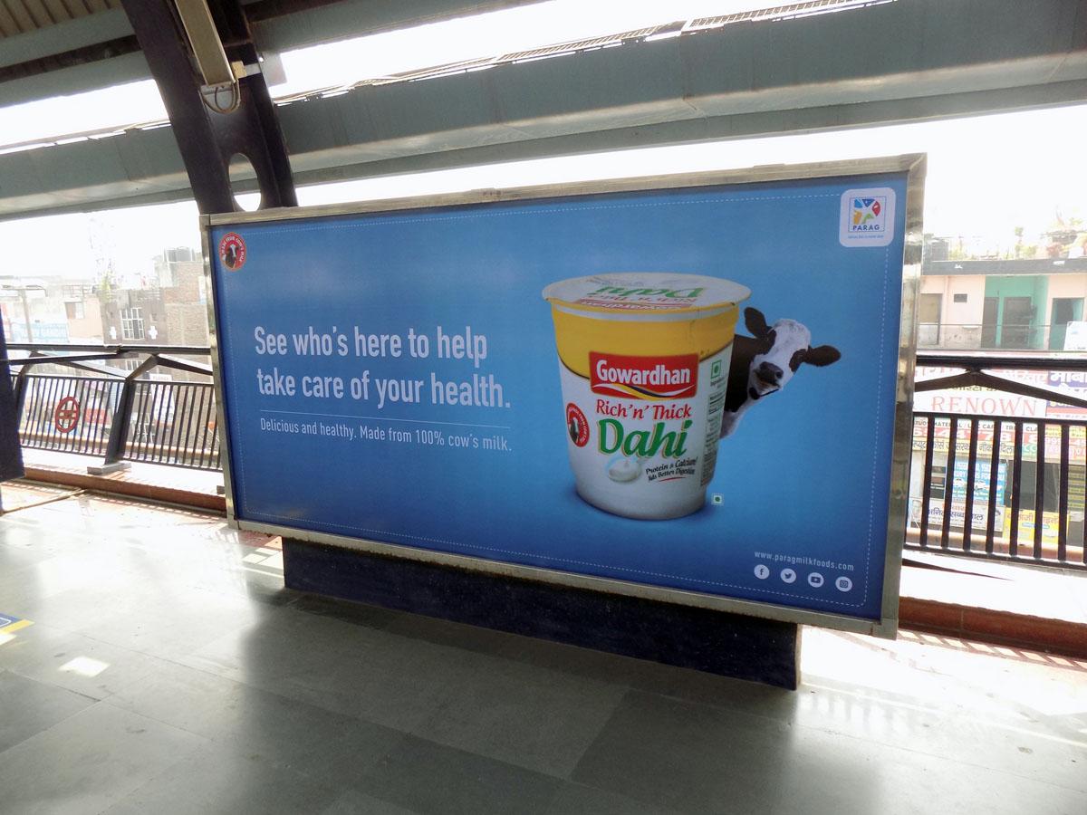 Uttam Nagar East - Delhi Metro Advertising
