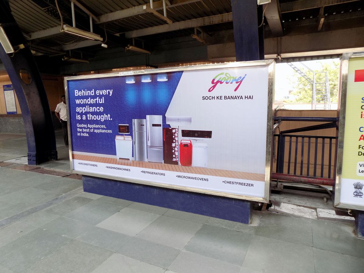 Uttam Nagar West - Delhi Metro Advertising