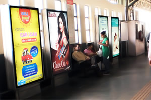 TDI Delhi Metro Advertising