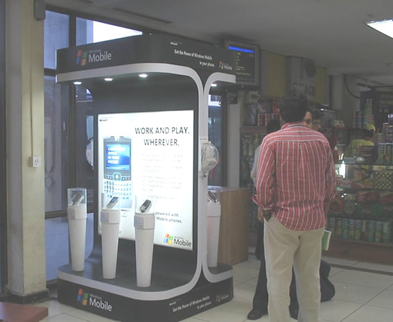 Advertising Experiential by TDI in India