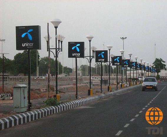 Pole Kiosks Advertising In India TDI International