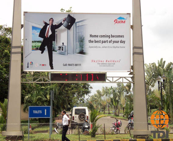 Time and Temperature OOH Advertising in India–TDI International