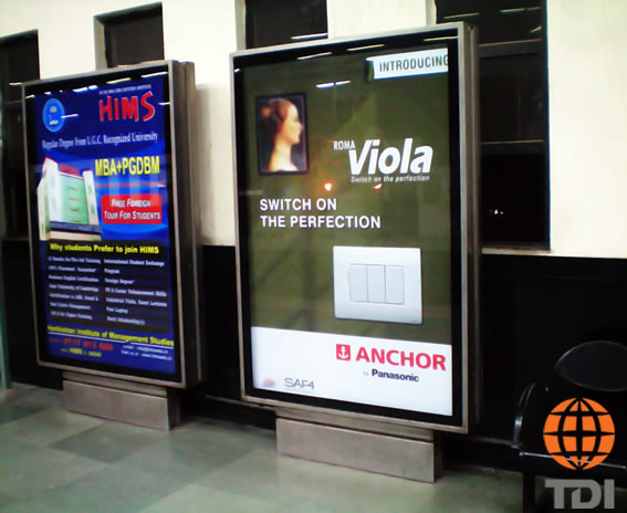 Selected Media Airport Advertising